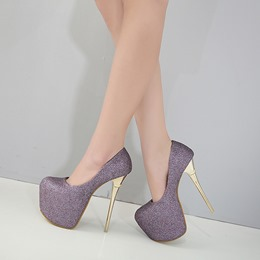 Slip-On Sexy Platform High Stiletto Heels