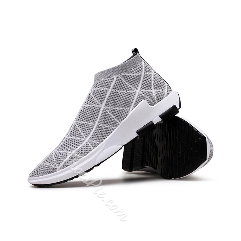 Casual Mesh Slip-On Athletic Shoes
