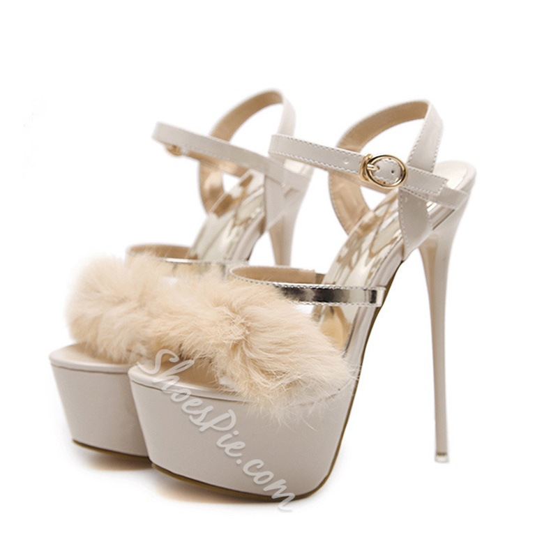 Platform Extreme High Stiletto Heel Sandals