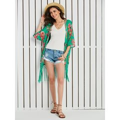 Thin Chiffon Beach Look Summer Women's Cape