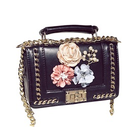 Shoespie Chinese Style Floral Crossbody Bag