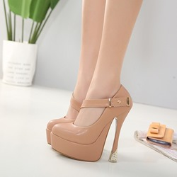 Platform Slip-On High Stiletto Heels