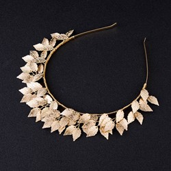 Plant Pearl Inlaid Hairband Sports Hair Accessories