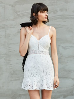 Sexy Lace Spaghetti Strap Sleeveless Bodycon Dresses