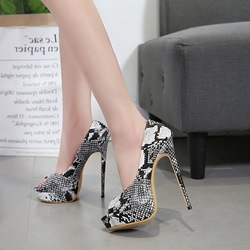 Serpentine Platform High Stiletto Heels