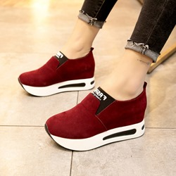 Platform Slip-On Women's Casual Shoes