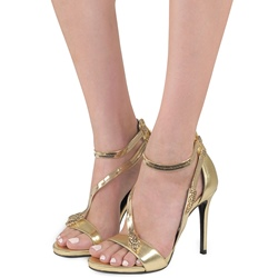 Sexy Heel Covering Stiletto Heel Sandals