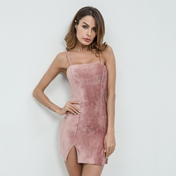 Sleeveless Spaghetti Strap Bodycon Dresses
