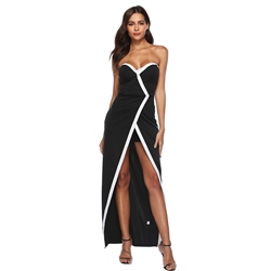 Asymmetrical Backless Sleeveless Bodycon Dresses