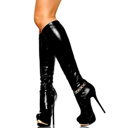 Platform Sexy Stiletto Heel Knee High Boots