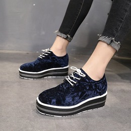 Platform Lace-Up Women's Sneakers