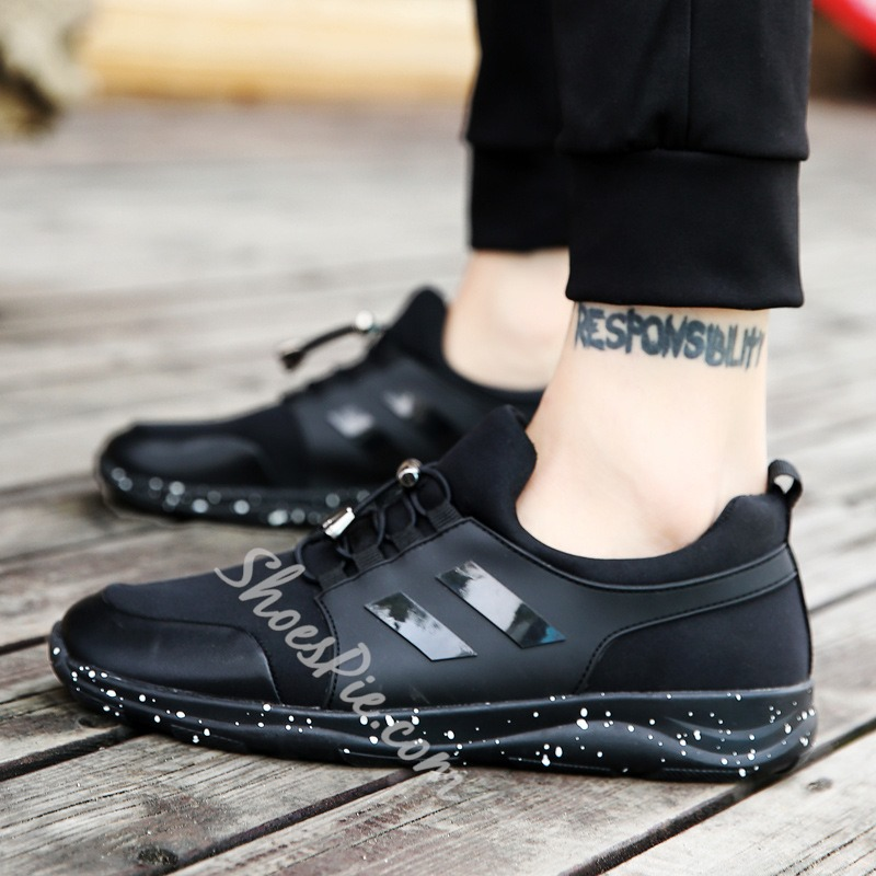 Casual Elastic Band Men's Sneakers