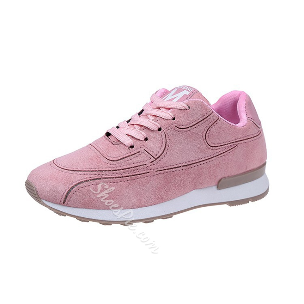 Lace-Up Platform Women's Casual Shoes