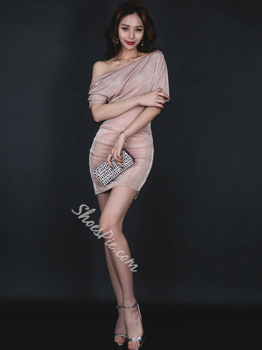 Sexy Summer Batwing Sleeve Bodycon Dresses