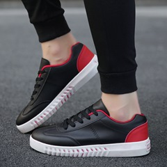 Round Toe Casual Lace-Up Thread Men's Sneakers