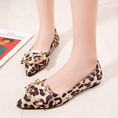 Slip-On Buckle Women's Casual Shoes