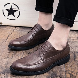 Professional Low-Cut Upper Lace-Up Men's Oxfords