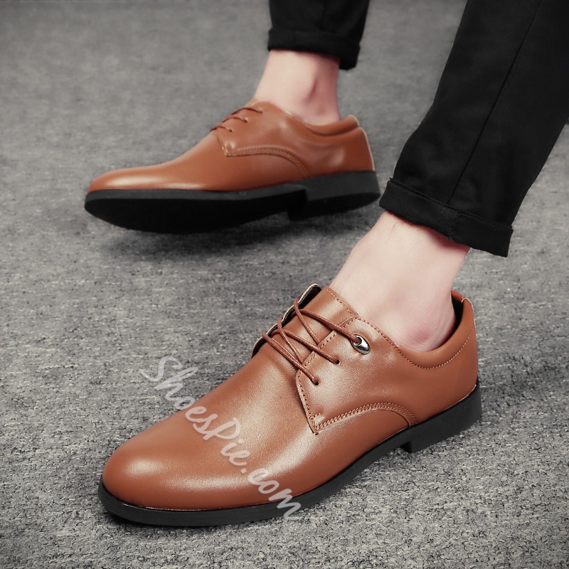 Lace-Up Professional Men's Oxfords
