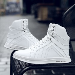 Men's Sneakers Lace-Up Skate Shoes