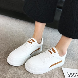 Color Block Women's Casual Shoes