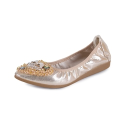 Rhinestone Beads Women's Casual Shoes