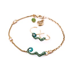 Shoespie Special Snake Anklet for Women