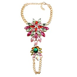Shoespie Colorful Rhinestone Anklet for Women