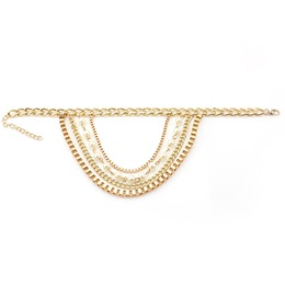 Shoespie Stylish Alloy Multilayer Anklet for Women