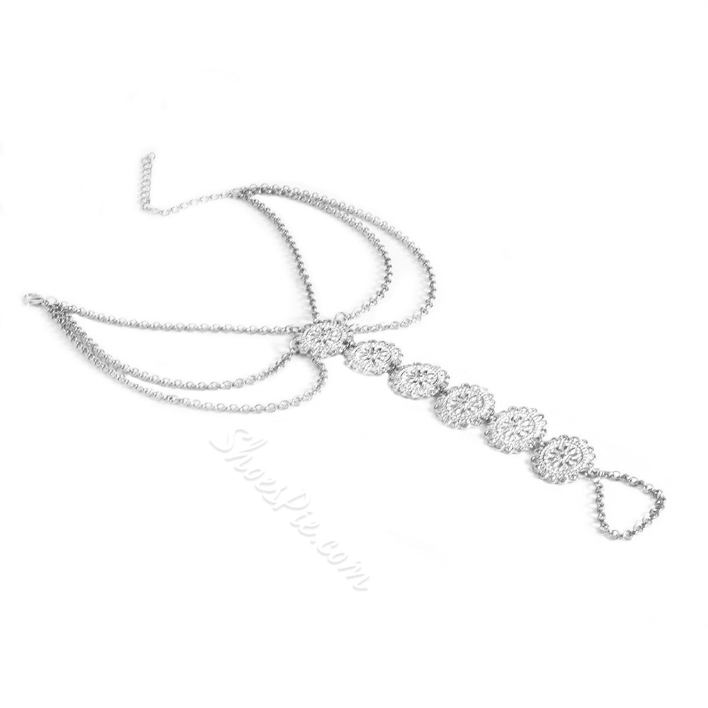 Shoespie Creative Alloy Women's Anklet