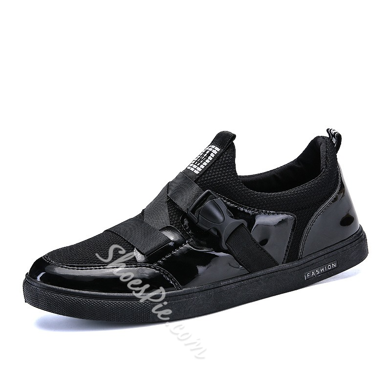 Spring Fashion Casual Buckle Men's Sneakers