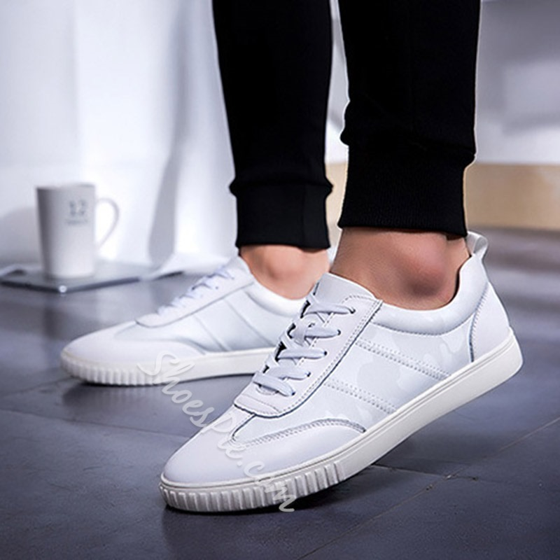 Spring Casual New Arrival Lace-Up Men's Sneakers