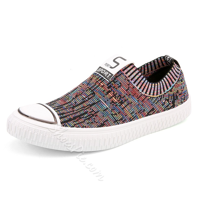 Men's Skate Shoes Slip-On Sneakers