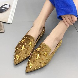 Rivet Slip-On Women's Casual Shoes