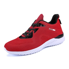 Casual Lace-Up Mesh Men's Sneakers