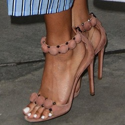 Heel Covering Stiletto Heel Sandals