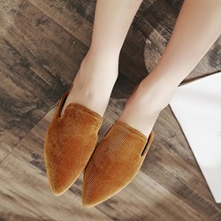 Plain Slip-On Women's Mules