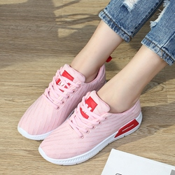 Color Block Mesh Women's Sneakers