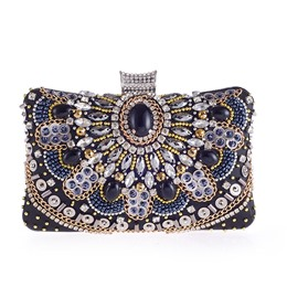 Shoespie Delicate Handmade Beading Decoration Women Clutch