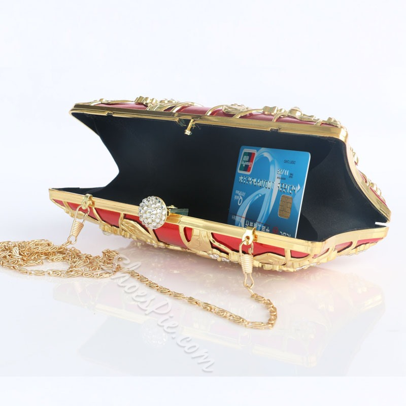 Shoespie Floral Pattern Women Clutch