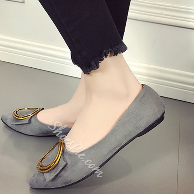 Block Heel Slip-On Women's Casual Shoes
