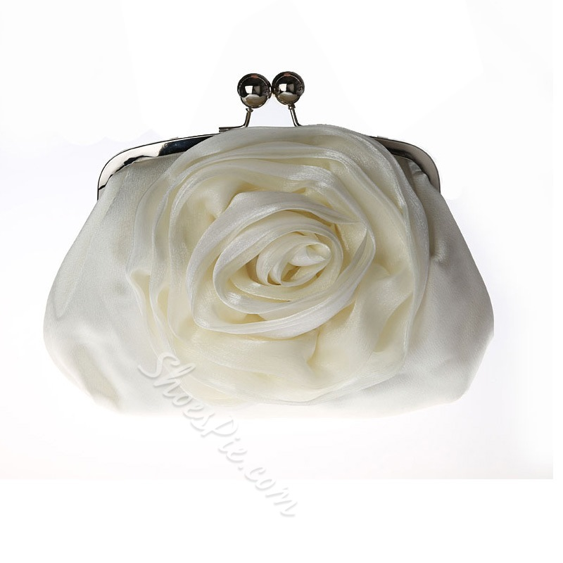 Shoespie Rose Shape Design Women Clutch