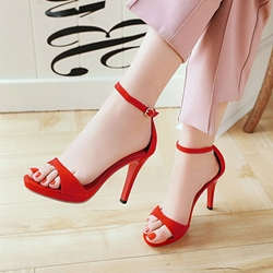 Plain Sexy Stiletto Heel Sandals
