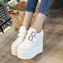 Platform Buckle Women's Sneakers