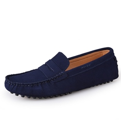 Casual Slip-On Rivet Men's Loafers