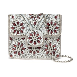Shoespie Vogue Floral Design Chain Hand Bag