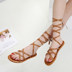Strappy Block Heel Women's Sandals