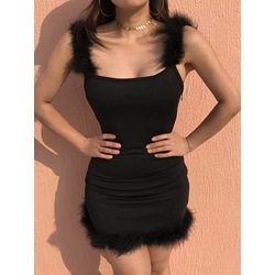 Black Prom Sleeveless Bodycon Dresses