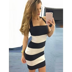 Sexy Sleeveless Halter Bodycon Dresses