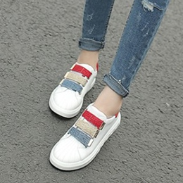 Round Toe Mesh Women's Sneakers