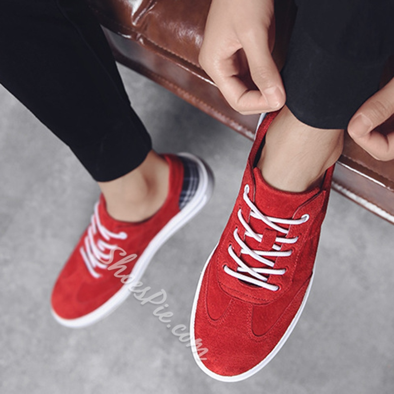 Mene's Sneakers Lace-Up Skate shoes